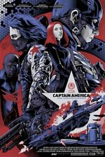 Grey Matter Captain America The Winter Soldier Poster