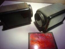 Brownie, dark room  pair of filtered low watts lamps by Kodak, vintage_______M-4