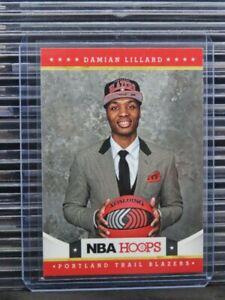 2012-13 Hoops Damian Lillard Rookie Card RC #280 Trail Blazers (A) F12
