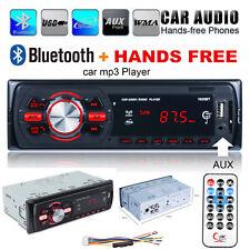 1DIN Car Audio Bluetooth Stereo Radio Head Unit MP3 Player 2-USB SD/FM Hand