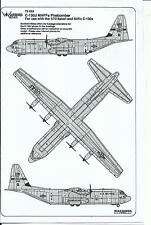 Warbird C-130J Hercules Maff Firebomber Decals 1/72 022