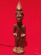 Afrikanische Figur aus Ebenholz 30,5 cm Skulptur Holzfigur Akt MANN Afrika