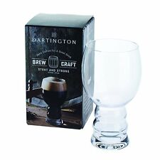 Personalised Dartington Brew Craft Stout & Strong Beer Glass - Add Own Message
