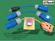 Caravan Reverse Polarity Test & Adaptor Set - All you need for travel to Europe!