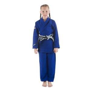 Tatami Fightwear Kids Roots BJJ Gi Blue Uniform Childrens Jiu Jitsu Suit Ju