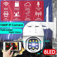 1080P HD Wireless WIFI IP Camera Outdoor CCTV PTZ  IR Cam Smart Home Security