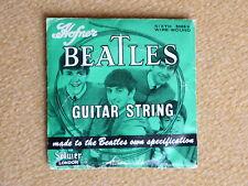 Beatles Memorabilia Guitar String, Gitarrensaite, Höfner, by Selcol, UK 1964