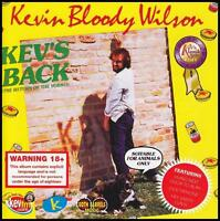 KEVIN BLOODY WILSON - KEV'S BACK (THE RETURN OF THE YOBBO) CD ~ COMEDY *NEW*