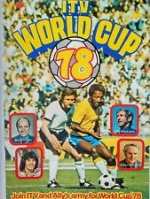 ITV World Cup 1978 in Argentina. Excellent condition