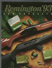 Remington New Products 1993 Catalog Guns Rifles