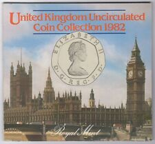 1982 United Kingdom Coin Collection   Coin Sets   Pennies2Pounds