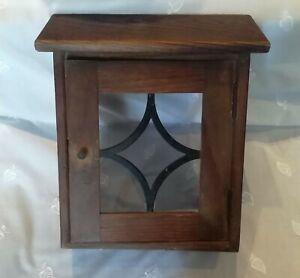 Briefkasten Haustür Holz alt antik gebraucht
