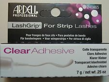 Ardell LashGrip Adhesive Strip Lash Eyelash Glue Clear 0.25Oz