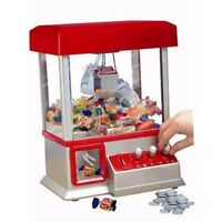 The CLAW Toy with Plush Emojis Grabber Crane Tabletop Arcade Machine Game