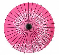 Wagasa Japanese umbrella Antique Japan umbrella ( Sakura spiral pink)