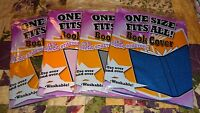 4 It's Academic One Size Fits All Solid Colors Book Cover Super Stretchy New #30