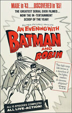 Batman And Robin #1 - 1965 Movie Poster