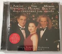 Merry Christmas from Vienna Michael Bolton, Placiso Domingo, Huang (CD)