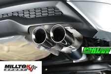 Ford Fiesta MK7 EcoBoost MILLTEK Sport Cat Back Exhaust System Res Polished GT80
