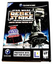 Star Wars Rogue Squadron III: Rebel Strike GameCube NEW (Ltd. Ed. Preview)