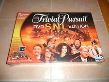 New - Trivial Pursuit - DVD SNL Saturday Night Live Edition