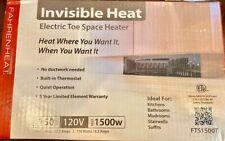 Fahrenheat 1,500-Watt 120-Volt Heater Fan Heater (15.75-in L x 3.75-in)