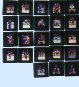 22 - New York Islanders  2 x 2 Slides  elate 1980's & early 1990's Bob Bourne