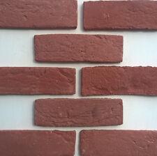 Accent Classic Red Brick Slips - Brick Cladding - Higgins Cladding - Sample