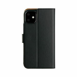 """iPhone 11 Pro Max (6.5"""") XQISIT Slim Wallet Case & Stand."""
