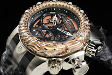 Invicta Men 52mm Venom Subaqua Dragon Scale Swiss Rose Gold Black Chrono Watch