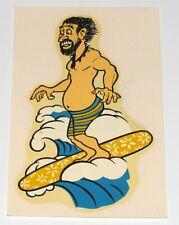 Vintage Mint Original 1960's Surfing Hippie Surfboard Water Slide Decal