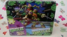 TEENAGE MUTANT NINJA TURTLE LUNCH BOX WITH FREE PUZZLE MUST !!! FREE SHIPPING!