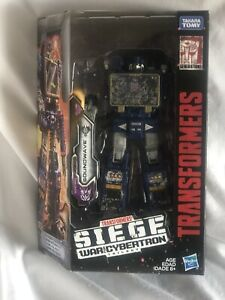 TRANSFORMERS SIEGE SOUNDWAVE