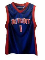 DETROIT PISTONS 🏀 Basketball Jersey #1  BILLUPS  by NBA Youth MEDIUM  (10 / 12)