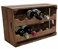 Apple Crate bottiglia di vino Rack 10