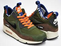 Nike Air Max 90 Sneakerboot Premium Lagoon Green 616113 302 Men's Shoes 11.5 US