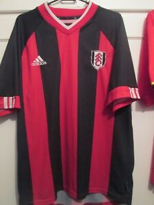 Fulham 2001-2002 Football Away Shirt Size Large  /48423
