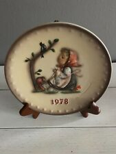 Goebel Hummel 1978 Annual Collectors Plate