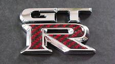 Carbon Fibre GTR Badge R32 GTS GTR R34 350Z PULSAR SKYLINE R33