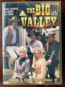 The Big Valley DVD Box Set 1960s US TV Western Drama Series w/ Barbara Stanwyck
