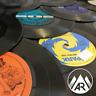 "10 x Upcycling 7"" Inch 45RPM Vinyl Records - Job Lot Crafting"