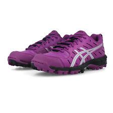 Asics Womens Gel-Hockey Neo 3 Hockey Shoes Pitch Field Purple Trainers