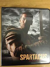 Spartacus Blood And Sand Official Rittenhouse Binder