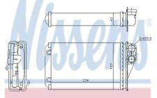 NISSENS Radiador de calefacción PEUGEOT 207 72946