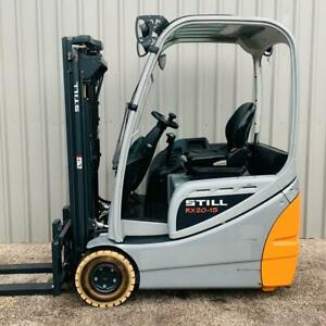 STILL RX20-15. USED 3 WHEEL ELECTRIC FORKLIFT. (#3435)