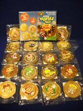 Frankford Wonder Ball Super Mario Coin & Sticker Set + Foil,Box,insert Nintendo