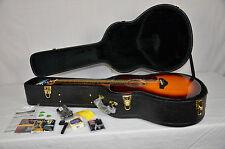 Yamaha Acoustic Guitar, Sunburst Finish w/hardcase, New