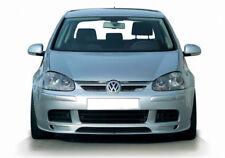 para VW GOLF Mk 5 Parachoques Delantero Alerón borde Chin Falda Separador Faldas