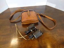 Vintage Binoculars In Leather Case
