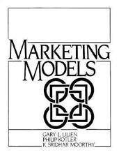 Marketing Models, Kotler, Philip, Moorthy, K. Sridhar, Lilien, Gary L., Good Boo